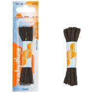 Ringpoint pyöreät kengännauhat Musta, 60cm