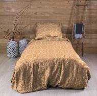 Create Home satiinipussilakanasetti Mandala 150x210 + 55x65 cm oranssi
